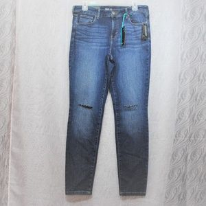 STYLE & CO LORMER Destructed Skinny Denim Jean 10